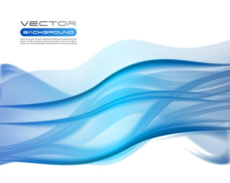 Vector awesome abstract blue backgrounds Stock Vector - 10673943