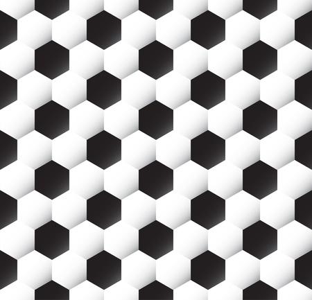 Seamless soccer ball texture