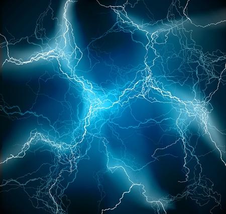 rayo electrico: Iluminación del flash vector de textura de fondo