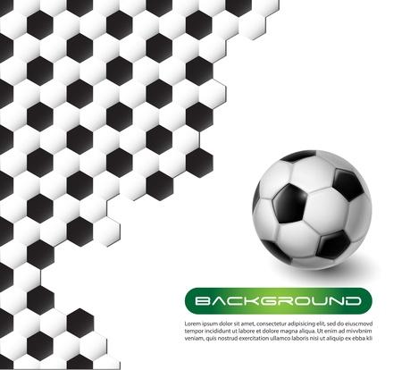 soccer ball vector background texture Stock Vector - 12807542