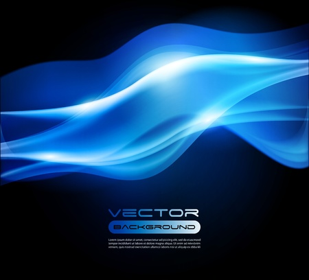 dark blue abstract vector background