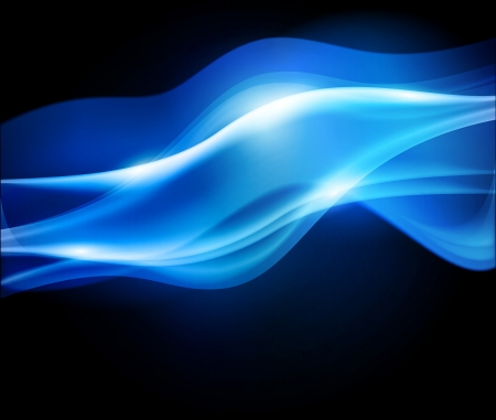 fumo blu: sfondo blu scuro abstract