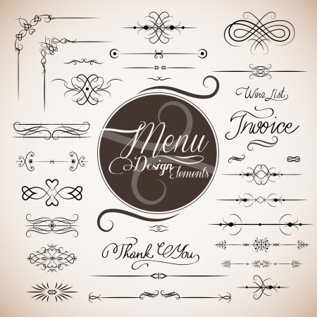 Restaurant menu design template Stock Vector - 14305673