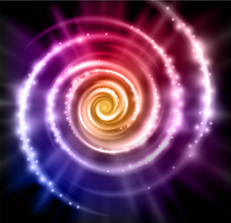 hypnotherapy: abstract vector magic background