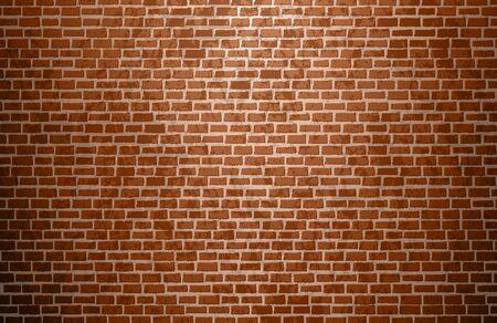 Vector brown brickwall Background Vector illustration