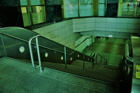 Entrance to Subway Station