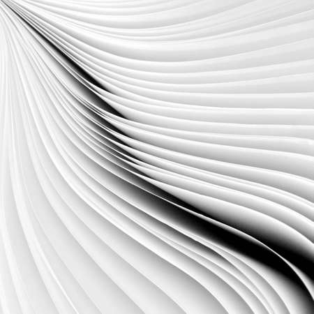 white: Paperwork, shape,, patterns, geometric, white, background, abstract, lines black and white curves.