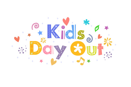 Kids Day Out Message for card design
