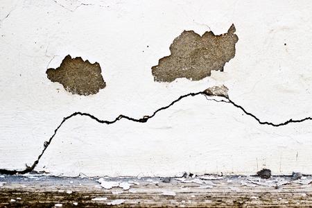peeling paint: Peeling vernice parete incrinata