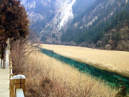 jiuzhaigou china  Stock Photo