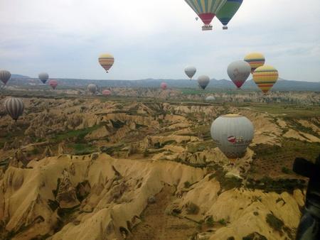 Balloons in the sky Cappadocia
