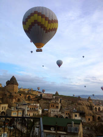 Cappadocia s sky in the morning turkey