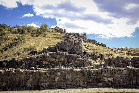 Sacsayhuaman,Cuzco Stock Photo