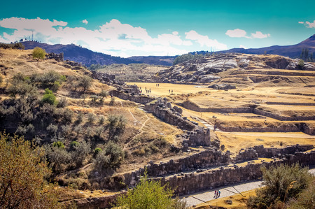 Sacsayhuaman,Cuzco Stock Photo