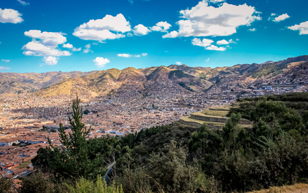 Top view Cuzco