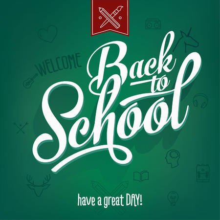 cool kids: Back to School typography