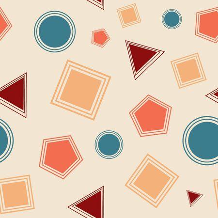 Seamless geometric pattern backdround