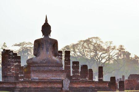 buddah: Behind the Buddha Statue