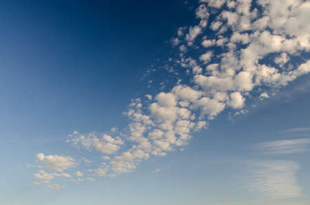 scatter: scatter clouds and sky Stock Photo