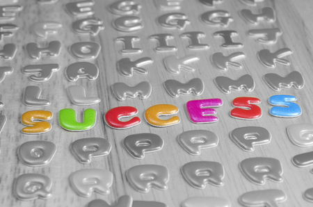 sucess: Business background, sucess concept Stock Photo