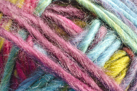 close up: Close up Muticolor Yarn