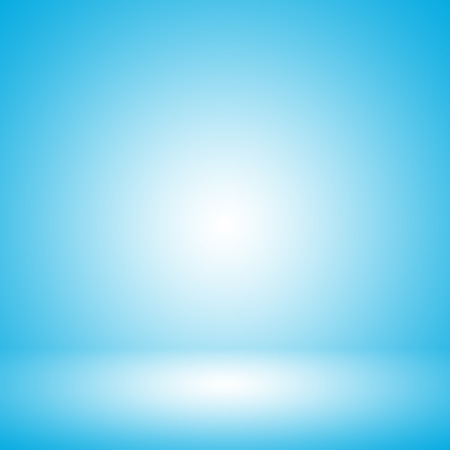 blue gradient: Light blue gradient abstract background. Empty room for display product