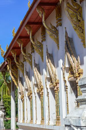 art and craft: Art, craft, decorating, marking Thailands cultural attractions. Stock Photo