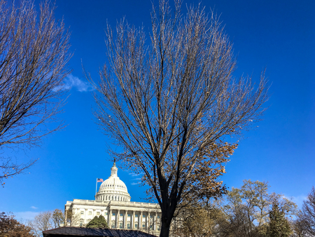 United States Capitol building during the daytime Stock Photo