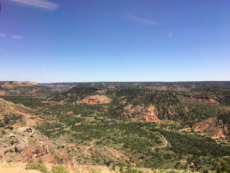 Palo Duro Canyon State Park Stock Photo