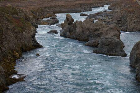 beautiful clear stream in Iceland 版權商用圖片