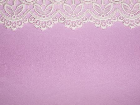 Rosa Hintergrund mit finishing durch eine Schnur