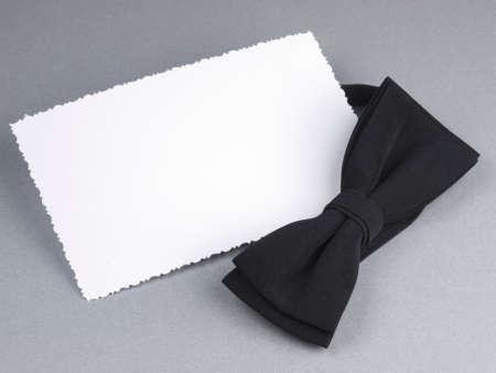 ard: Сard with bow tie