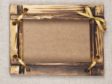 Old wooden frame for a picture Stock Photo - 9515763
