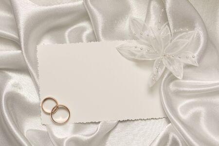 Bodas accesorio y los anillos