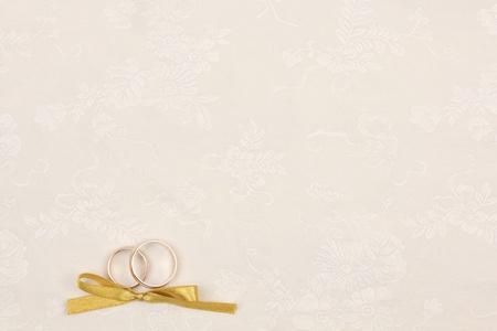 Sch�ne Kunst Hintergrund mit Eheringe