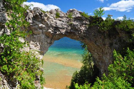 mackinac: Arch Rock