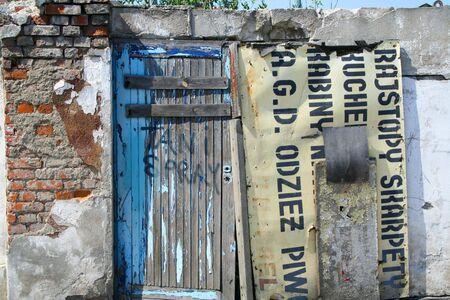 Door to nowhere photo