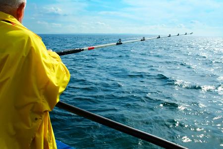 Sea fishing photo