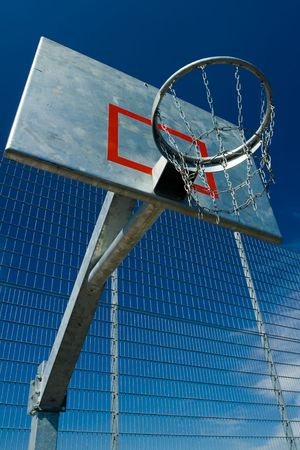 robust: Street basketball court