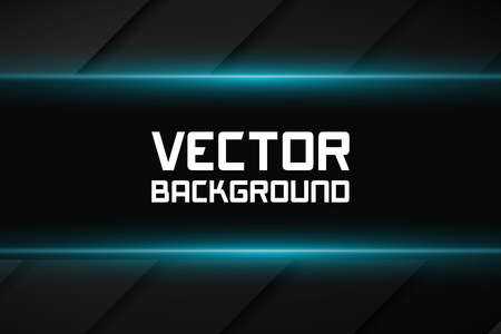 modern abstract design: Dark background with shiny lines. Vector illustration, EPS 10