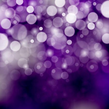 estrellas moradas: bokeh de fondo morado. Ilustraci�n del vector, EPS 10