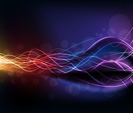 high light: Colorful high light dynamic background. Vector illustration, EPS 10
