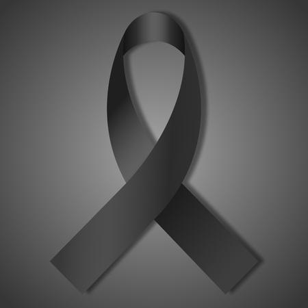ruban noir: ruban noir isol�.