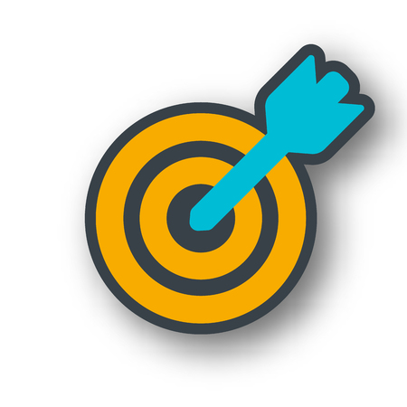 target icon: Business target icon.