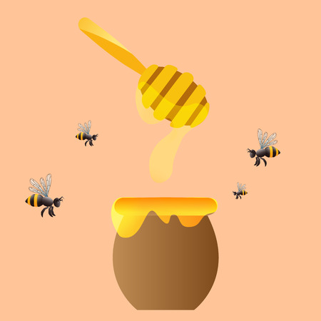 apiary: Apiary vector symbols. Vector illustration, EPS 10 Illustration