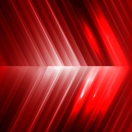 red arrow: Vector red arrow background. Illustration Eps 10 Illustration