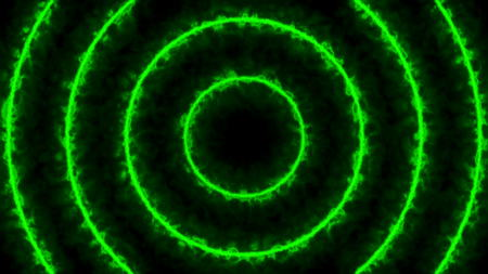 lightyear: Abstract energy tunnel. Green digital background. 3d rendered