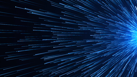 Abstract background with Optical fiber. 3d rendering 版權商用圖片