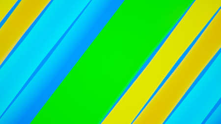 Abstract background with colorful lines. 3d rendering