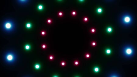Abstract background with radial lights. 3d rendering 版權商用圖片